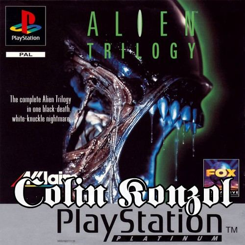 Alien Trilogy (Platinum) (only disc)