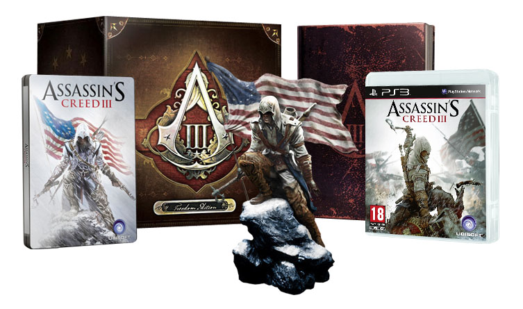 Assassin's Creed 3 Freedom Edition (játék nélkül)