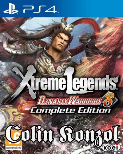 Dynasty Warriors 8 Xtreme Legends (Complete Edition)