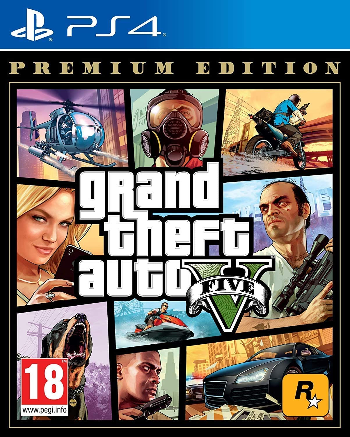 Grand Theft Auto V (Premium Edition) (ÚJ)