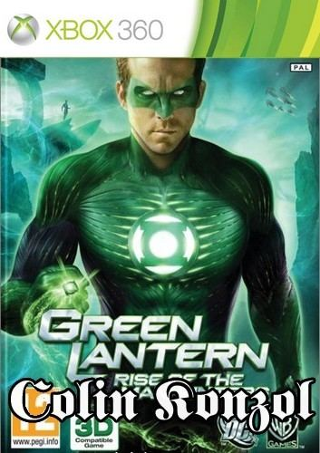 Green Lantern Rise of the Manhunters (Co-op) (3D komp.)