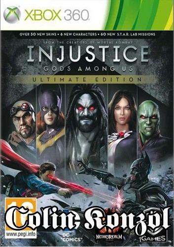 Injustice Gods Among Us (Ultimate Edition) (Xbox One komp.)