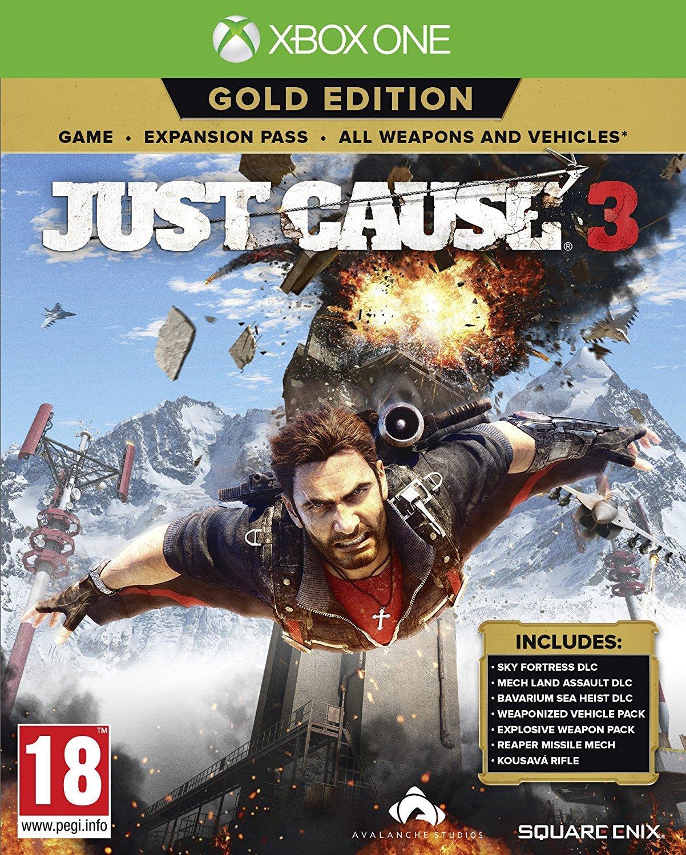 Just Cause 3 Gold Edition (kód él!)