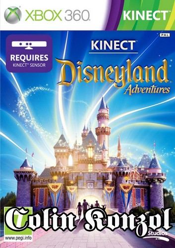 Kinect Disneyland Adventures (Co-op) (only Kinect)
