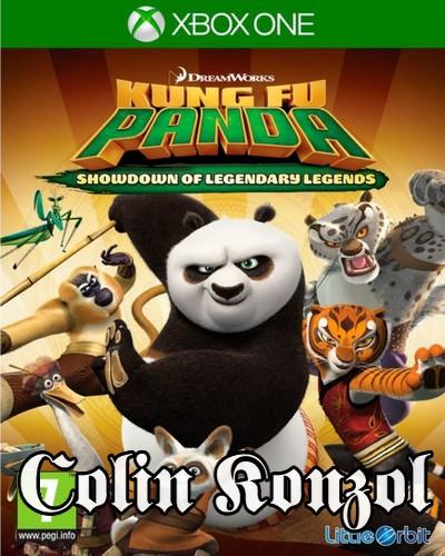 Kung Fu Panda Showdown of the Legendary Legends