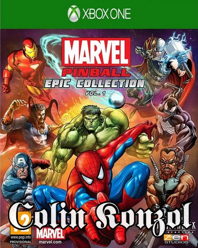 Marvel Pinball Epic Collection Vol. 1 (Új termék)