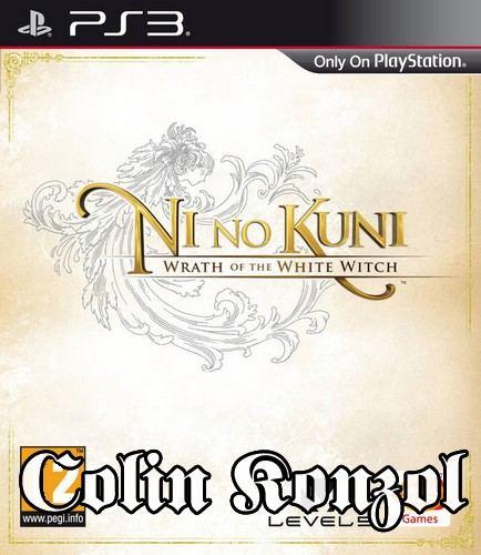 Ni no Kuni Wrath of the White Witch (Francia borító Angol és Japán nyelvvel)