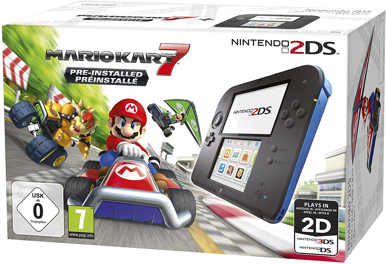 Nintendo 2DS Blue (FTR-001) Dobozos