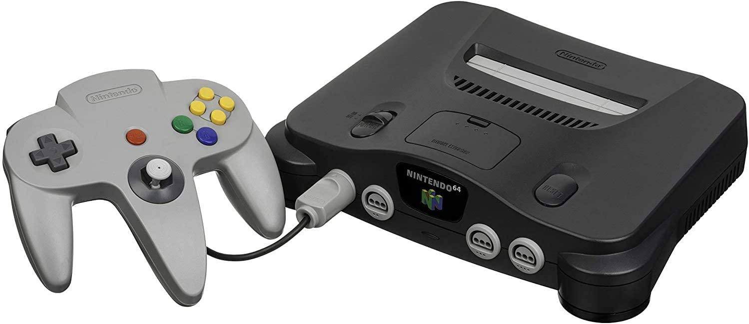 Nintendo 64 N64 (NUS-001) Piros Gyári kontrollerrel, +Expansion Pak