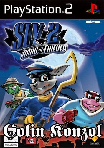 Sly 2 Band of Thieves (Holland borító) (választható angol nyelv)