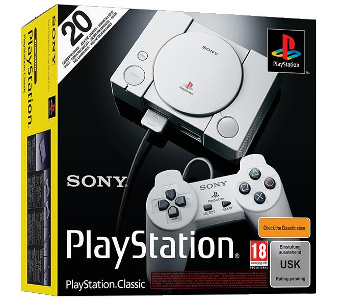 Sony Playstation Classic (SCPH-1000R)(dobozos)