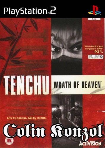Tenchu Wrath of Heaven (manual sérűlt)