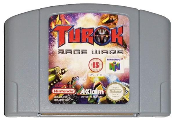Turok Rage Wars (n64)