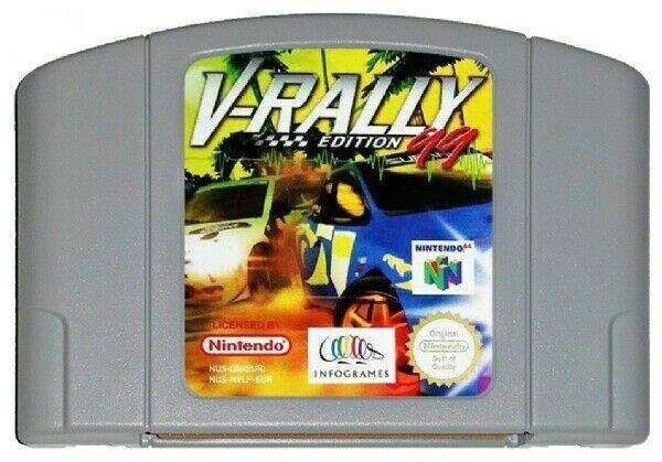 V-Rally Edition 99 (n64)