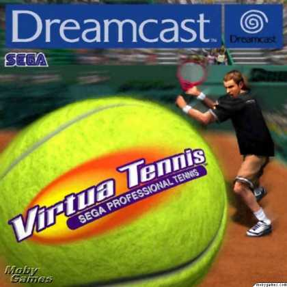 Virtua Tennis SEGA Dreamcast