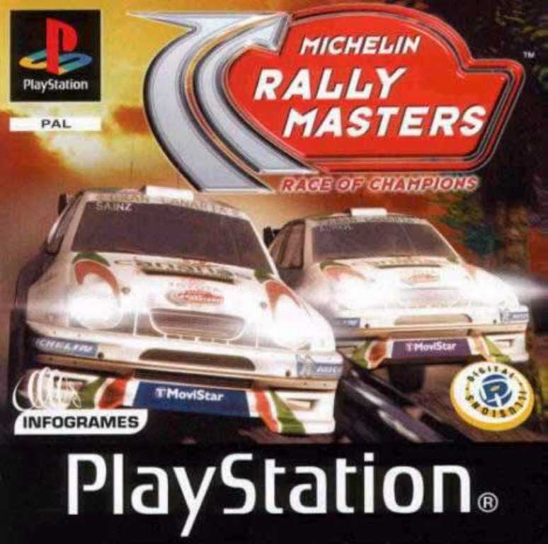 Michelin Rally Masters (only disc)