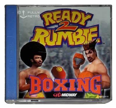 Ready 2 Rumble Boxing SEGA Dreamcast