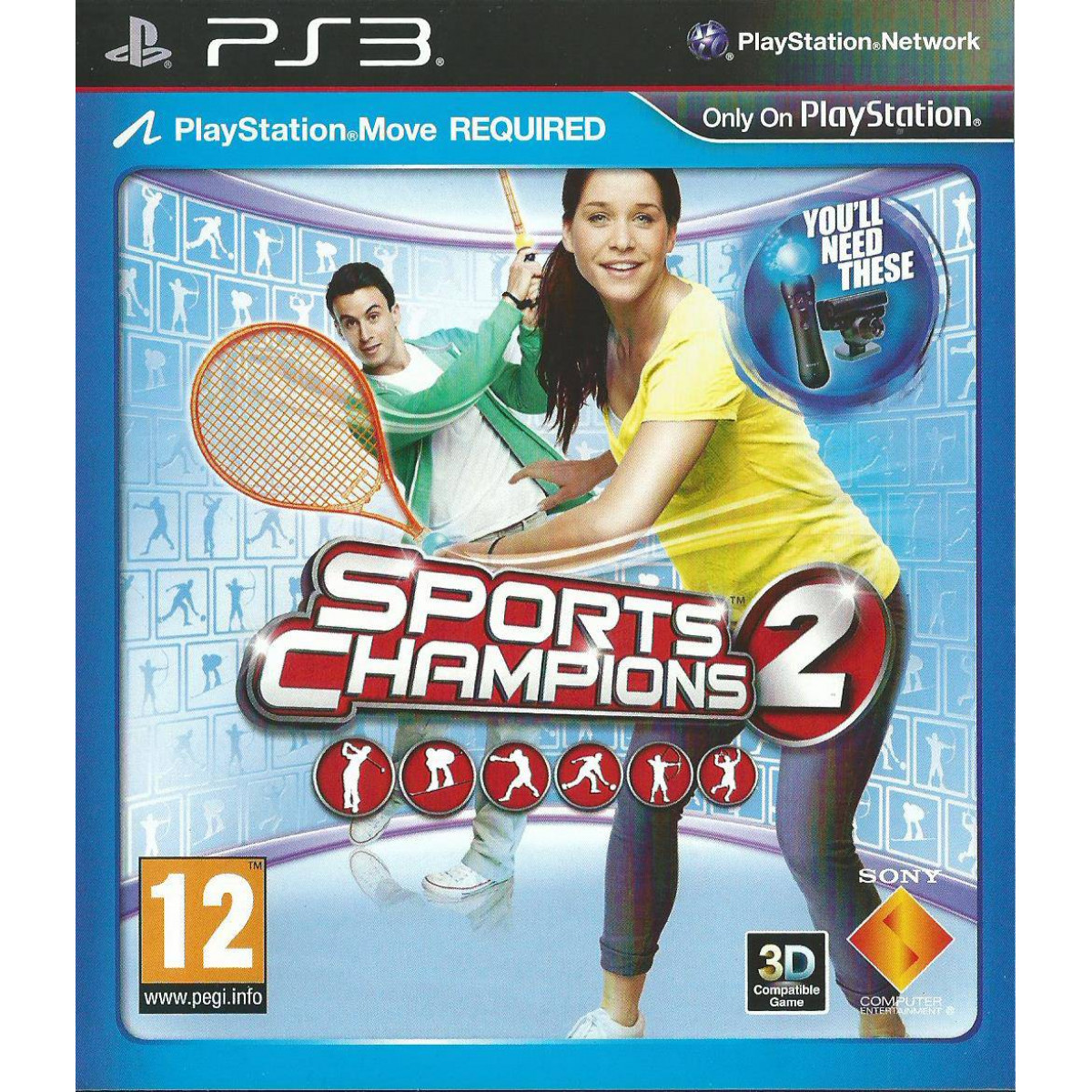 Sports Champions 2 [PS Move Only]