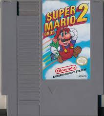 Super Mario Bros. 2 Cartridge