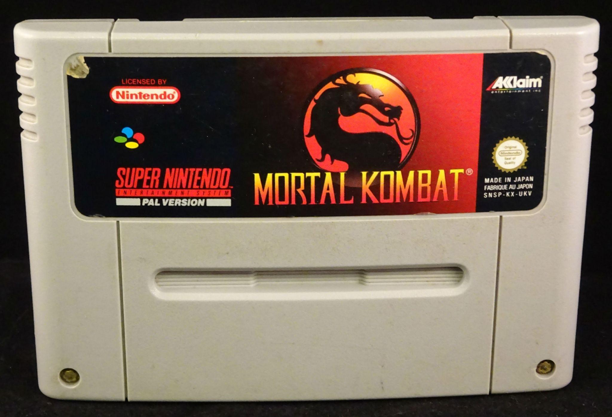 Mortal Kombat SNES (CTR)