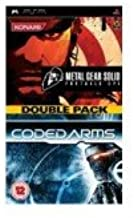 Metal Gear Solid Portable ops+Coded arms double pack (holland borító)