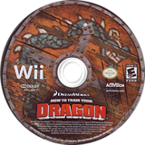 How to Train your Dragon Wii (only disc)
