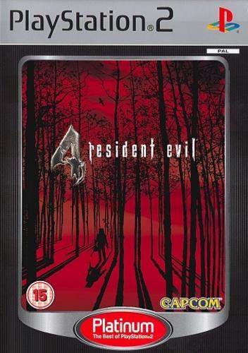 Resident Evil 4 (Platinum) no manual