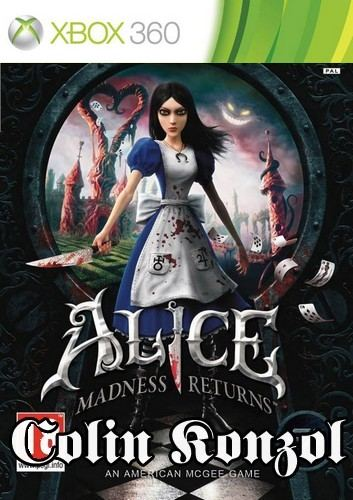 Alice Madness Returns (Xbox One komp.) (Német borító,választható Angol nyelv)