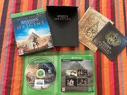 Assassins Creed Origins deluxe edition (játék nélkül)