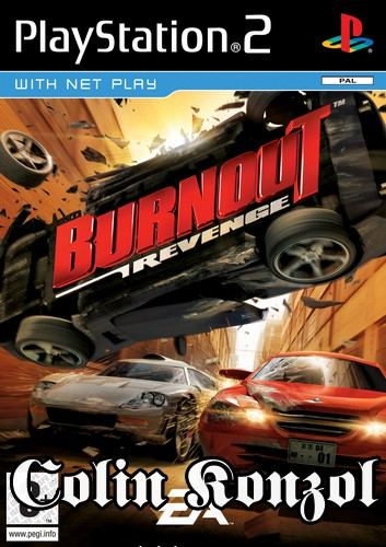 Burnout Revenge (no manual)
