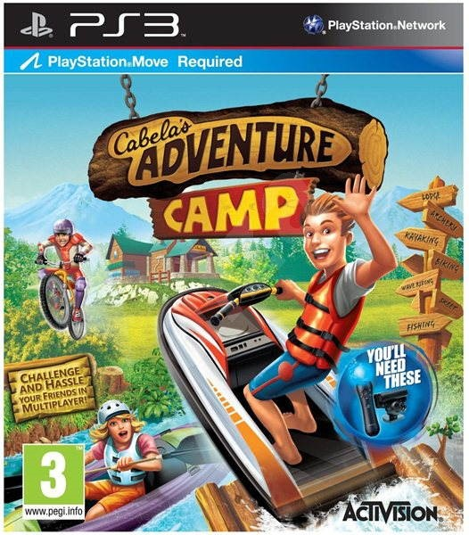 Cabela's Adventure Camp [ PS MOVE ]