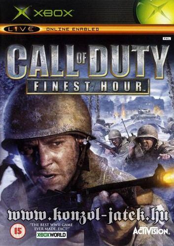 Call of Duty Finest Hour (Xbox 360 komp.) (no manual)