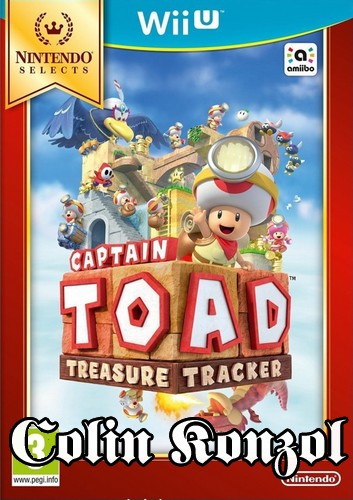 Captain Toad Treasure Tracker (Nintendo Selects Wii U)