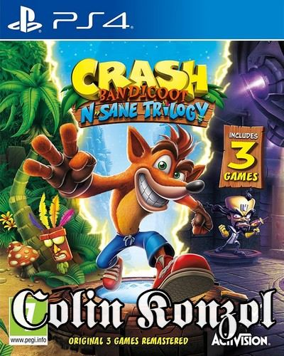 Crash Bandicoot N. Sane Trilogy (Blu Ray tokban)