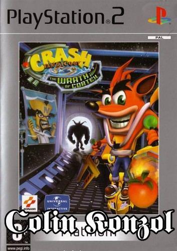 Crash Bandicoot The Wrath of Cortex (Platinum) kiskönyv nélkül