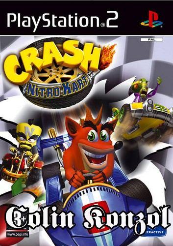 Crash Nitro Kart (kisköny nélkül )