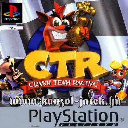 CTR Crash Team Racing (Platinum) (only disc)