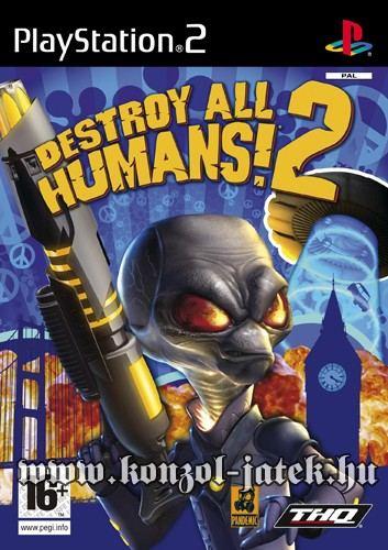 Destroy All Humans! 2 (Co-op)
