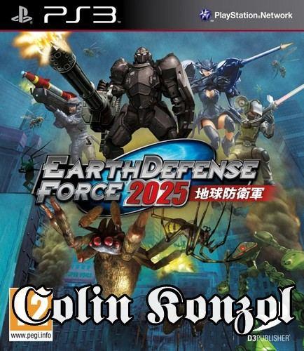 Earth Defense Force 2025