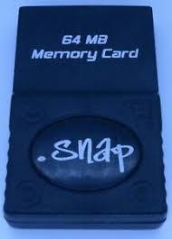Gamecube memory card Snap 64mb 1019 block