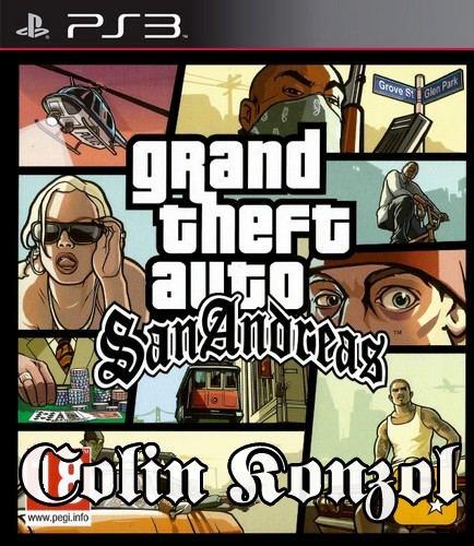 Grand Theft Auto San Andreas (Új) Német borítós