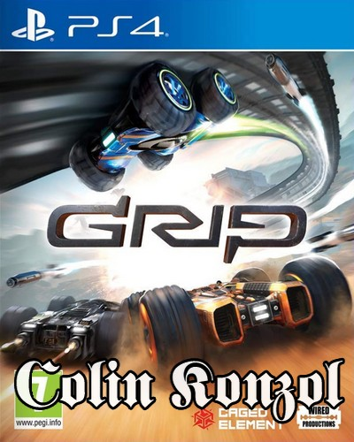 GRIP Combat Racing (Offline 1-4)