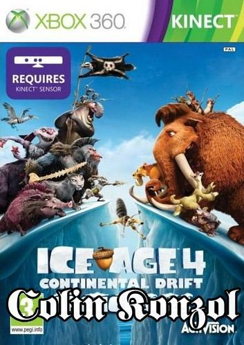 Ice Age 4 Continental Drift Arctic Games (only Kinect)
