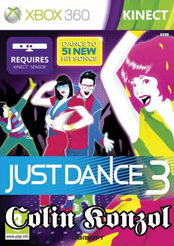 Just Dance 3 (Co-op) (only Kinect)