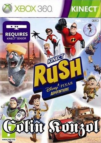 Kinect Rush A Disney-Pixar Adventure (Co-op) (only Kinect)