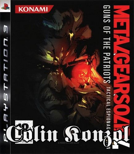 Metal Gear Solid 4 (Papír dobozos)