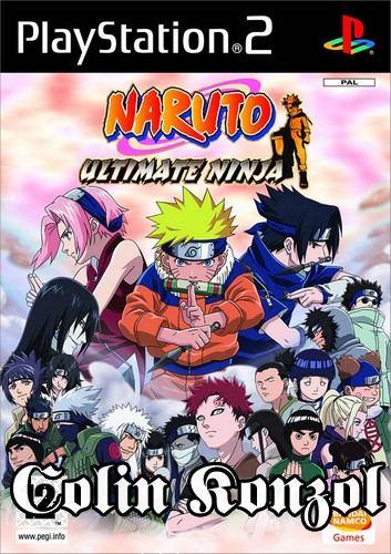 Naruto Ultimate Ninja (német borító, angol nyelv)