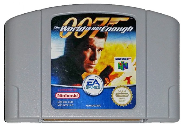 Nintendo64 007 The world is not enough