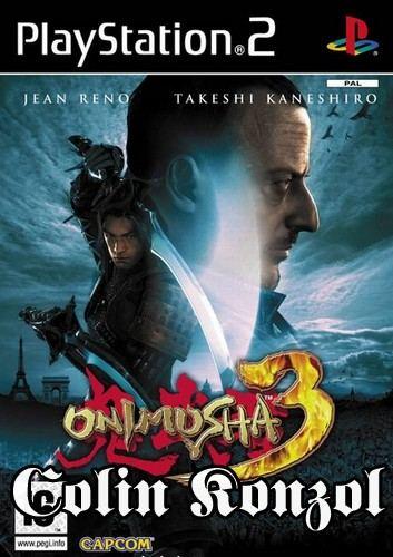 Onimusha 3 Holland borító (választható ANGOL nyelv)