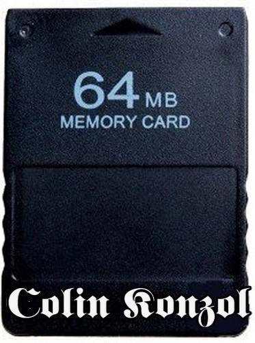 PlayStation 2 Memóriakártya 64MB-os (utángyártott)